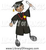 July 26th, 2014: Clip Art of a Graduate Stick Boy by BNP Design Studio