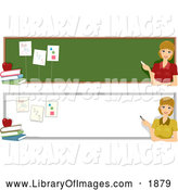 Clip Art of Teacher Website Banners by BNP Design Studio